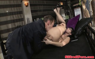 tantric paramour dude licks mother i in glasses