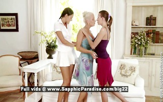 iris and deny and juliette from sapphic erotica