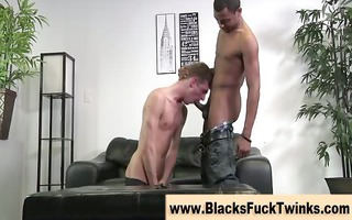 dark cock for white twink