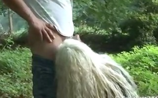 public park sex with blonde mother i