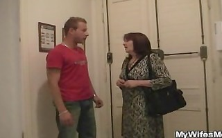 sexually excited lad bangs her gfs mom