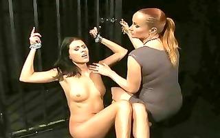 goddess dominating nice-looking hawt slavegirl