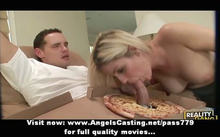 wonderful outstanding blond lady fucking with the