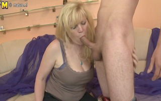 hot amateur mother getting fucked hard by young