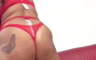 mother id like to fuck in red stockings