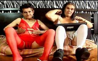 granny s lesbo en web camera 7