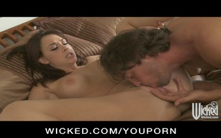 big tit hot mother i wife dark brown receives