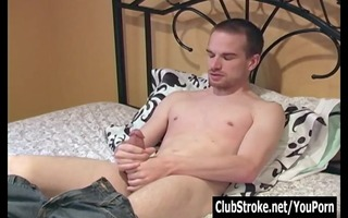 dark brown str guy taylor masturbating