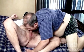 taking a large dad bears load