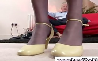 mature redhead t live without giving handy