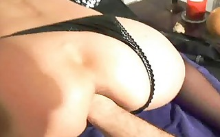 fist fucking the wifes fur pie untill she is