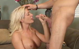 two chaps pickup hawt blonde mother i