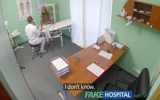 fakehospital spying on hawt youthful hottie
