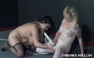 enslaved lesbian toying and angels sex tool sex