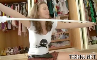 unrepining oriental legal age teenager screwed