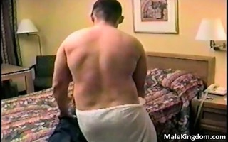 corpulent gay is engulfing a monster white part11