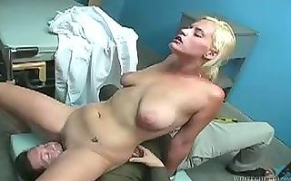 armpit worship as ribald golden-haired girl
