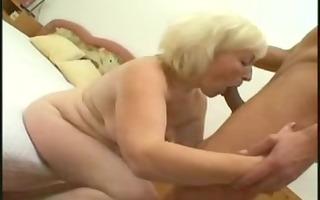 grannies fuck with juvenile fella