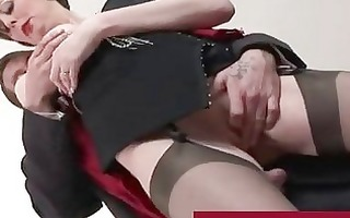 spruce older lady in nylons fucking