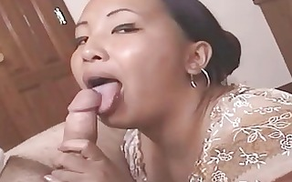naughty older oriental receives cumfaced after