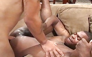 ebon homo oral job and fuck