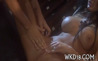 naughty threesome sex action