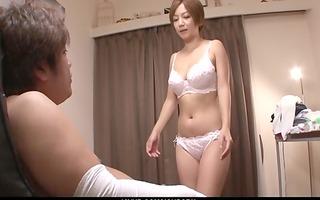 mother i meguru kosaka sucks rod and 15s in pov
