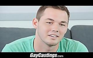 gaycastings texas cowboy rides a knob like he is