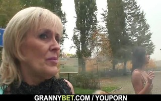 fellow picks up an old prostitute and bangs her