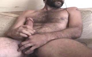 sexy shaggy daddy cums