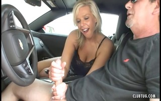 hot d like to fuck jerking in the car