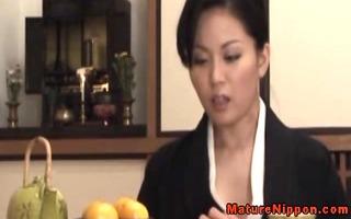 hot lascivious japanese mother i foot rubs shlong