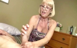 aged non-professional craves cum from knob in hd