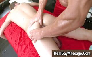 str boy acquires a massage