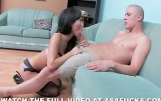 asa akira receives her cum-hole pounded hard