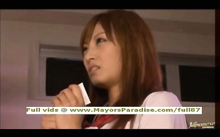 kirara asuka smart asian schoolchick acquires