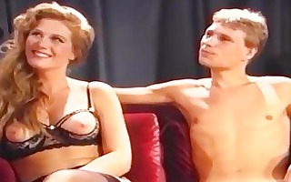 classic porn of a oral contest on television