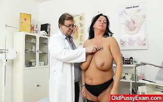 adult toy in cookie during a wife gyno