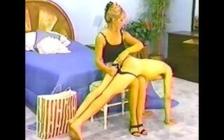 fella spanked in panties by super hot