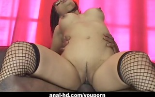oriental playgirl with glasses mika tan rides