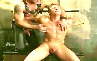 muscular homosexual handsomes tasting slavery