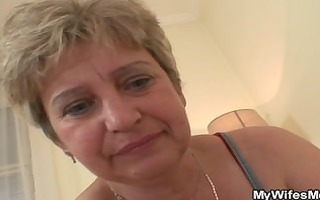 pounder hungry mother-in-law seduces him