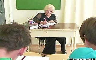 men fuck granny teacher
