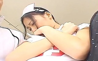 aino kishi asian nurse widens...