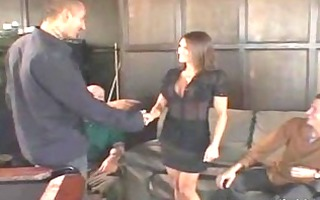 breasty wife got schlong and finger fucked