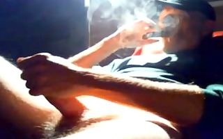 daddy supersexy - smoking hard, wankin hard