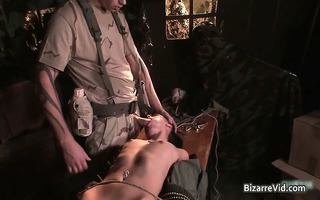 two hot sexy lustful army floozy receives