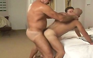 bareback - curly boy-friends fucking