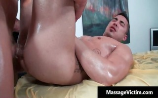 hot and lewd dude acquires the massage