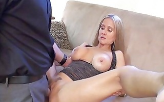 sluty golden-haired milf with biggest breast in